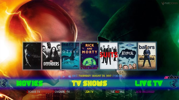 Kodi Eden Builds TV Shows