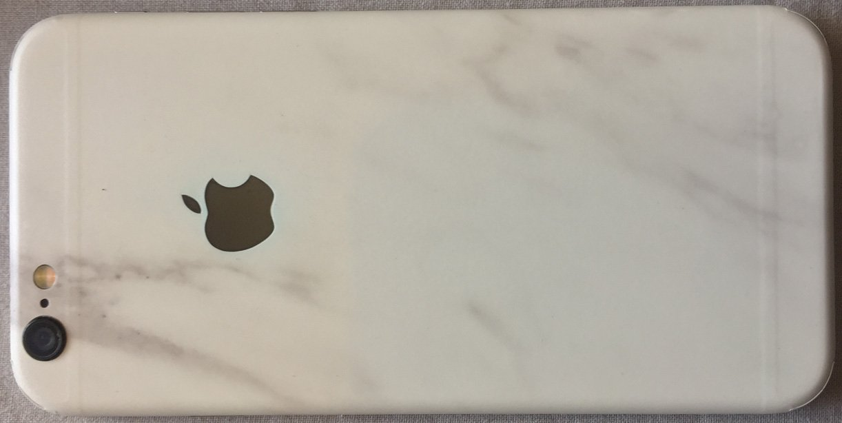 dbrand skin review back of iphone 6
