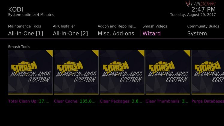 Kodi Skyllar Build Wizard