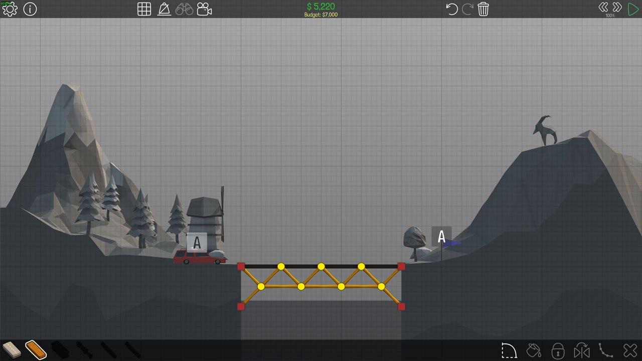 Poly Bridge 8M Simple Bridge