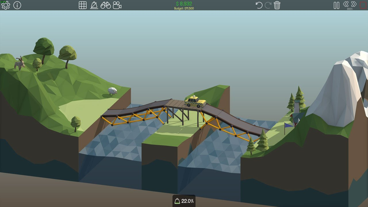 Poly Bridge 1-10 Checkpoint