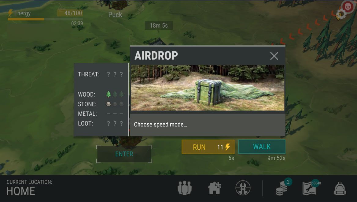 Last Day on Earth Airdrop location