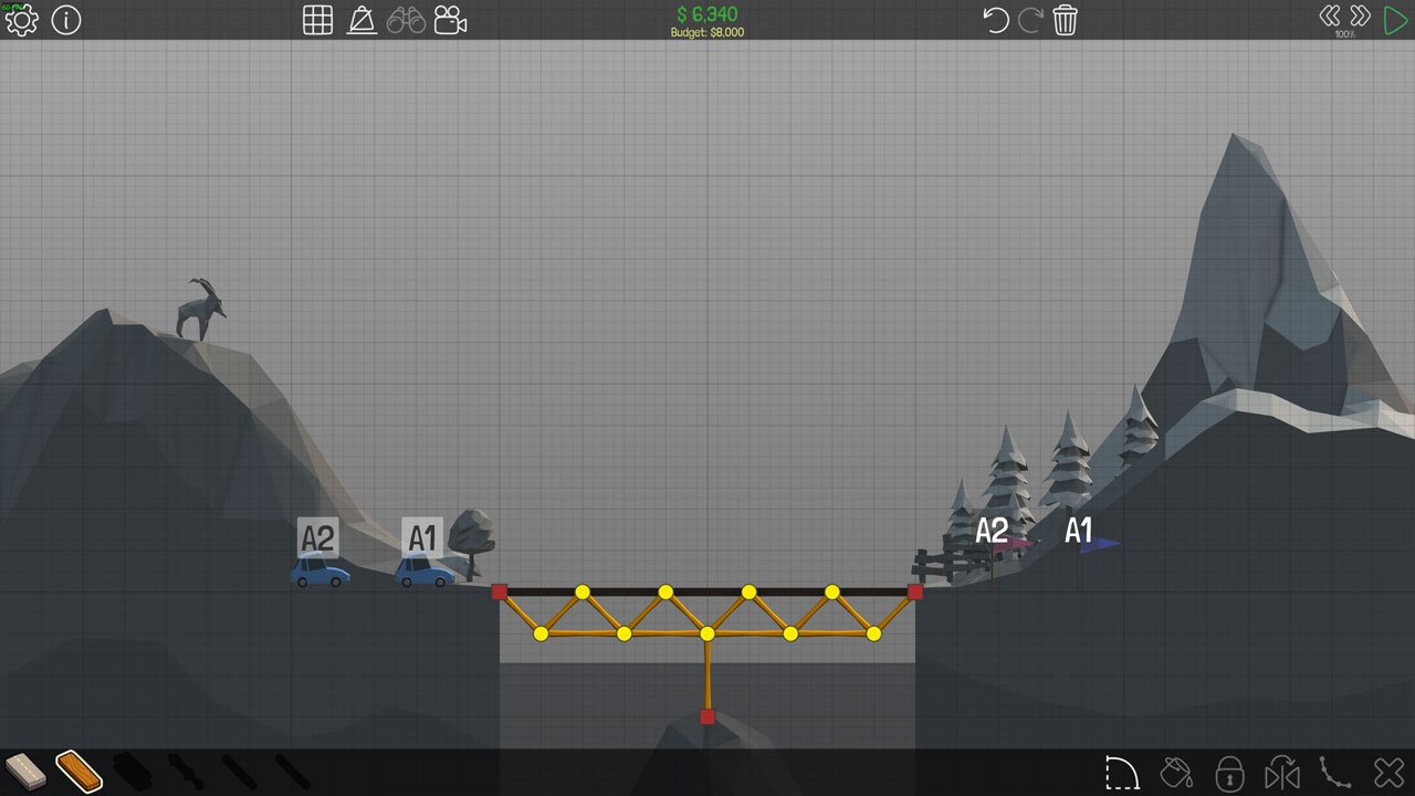 Poly Bridge 10M Simple Bridge