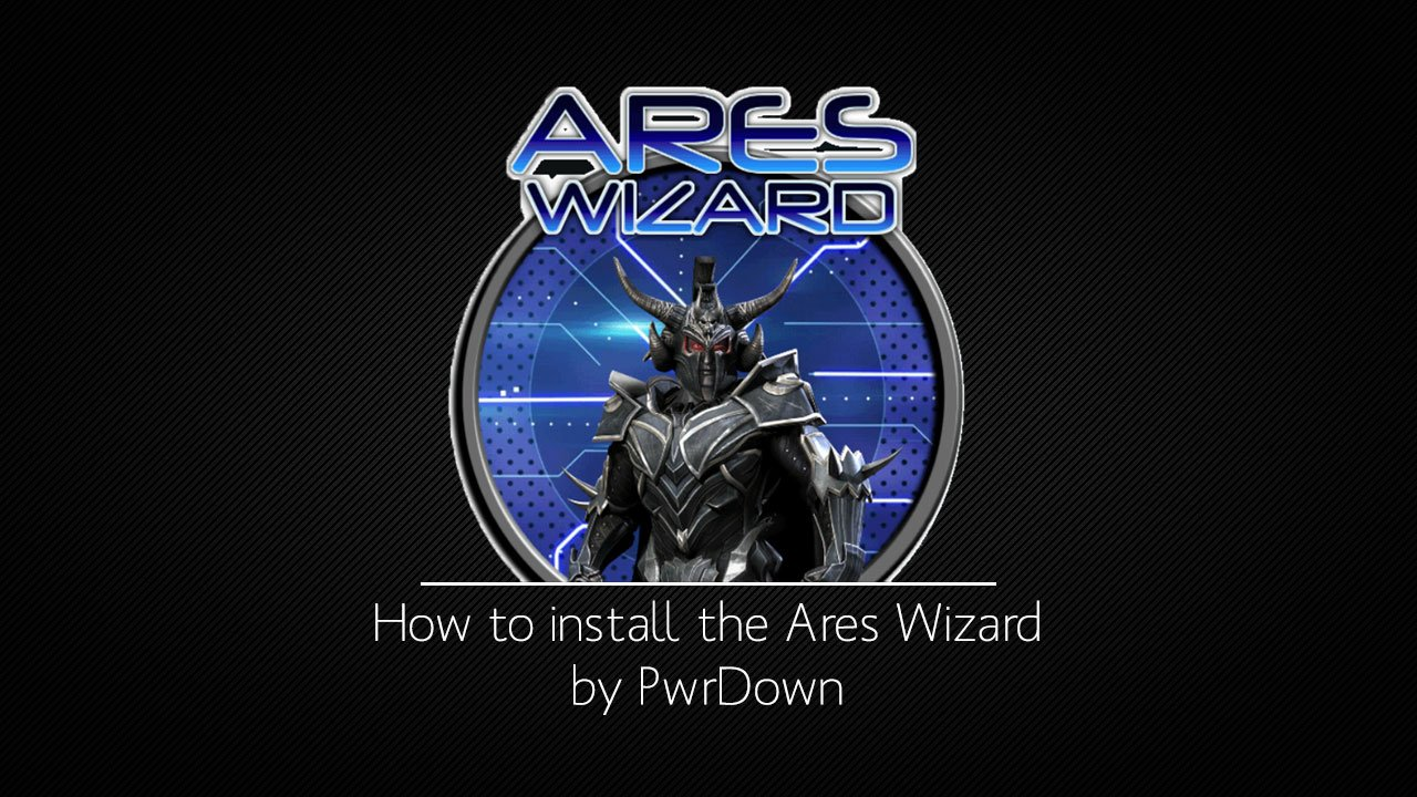 How to install the Ares Wizard for Kodi