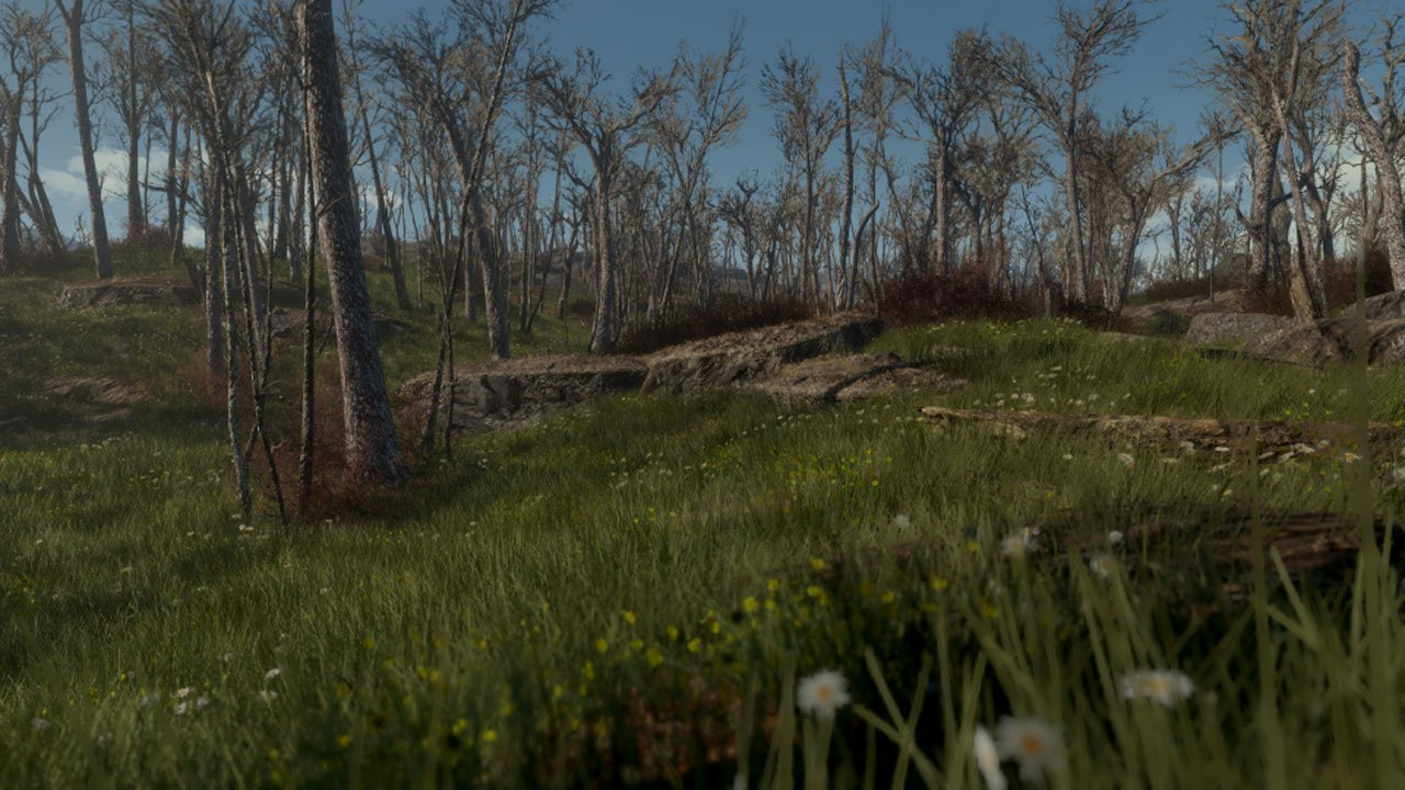 Best Fallout 4 Mods for Graphics grasslands