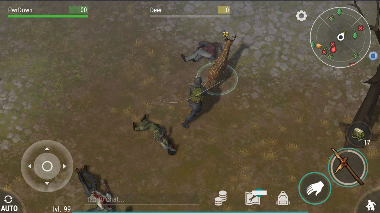 Last Day on Earth: Survival how to kill deer use your weapon to critical strike the deer