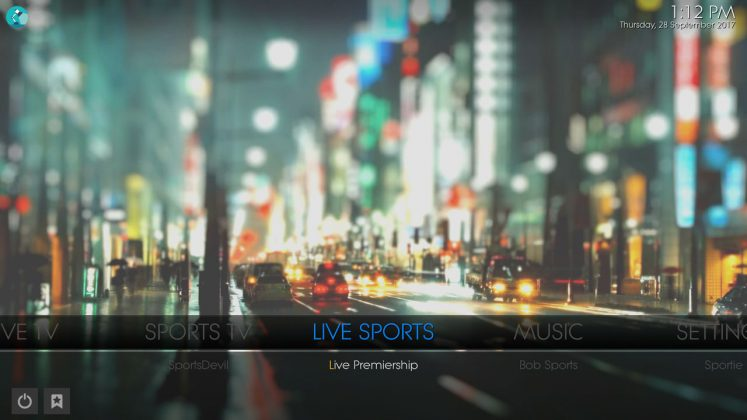 Kodi Prolite Builds Live Sports