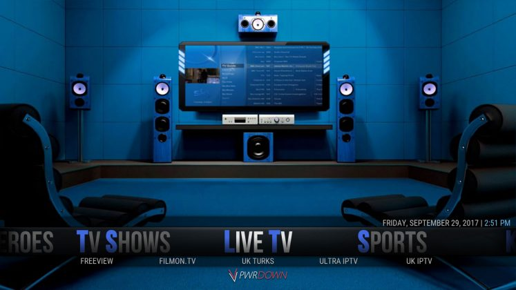 Kodi Hexane Build Live TV