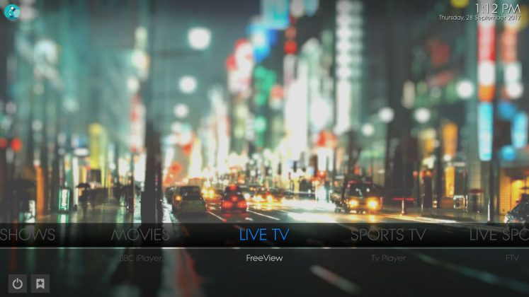 Kodi Prolite Builds Live TV