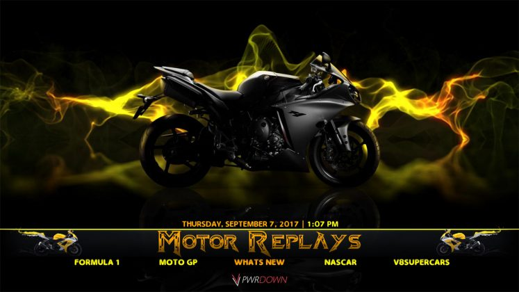 Kodi Motor Replays Build
