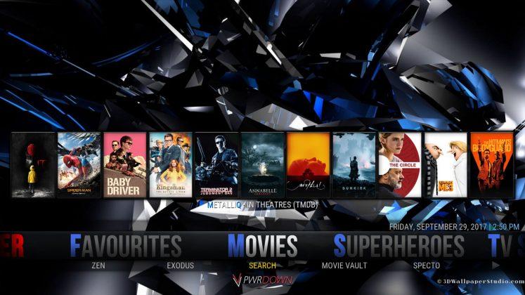Kodi Hexane Build Movies