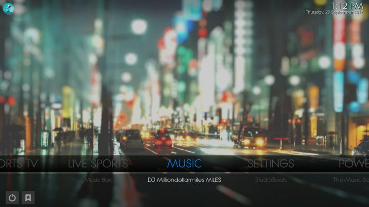 Kodi Prolite Builds Music