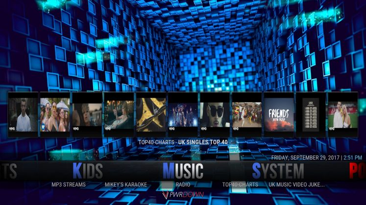 Kodi Hexane Build Music