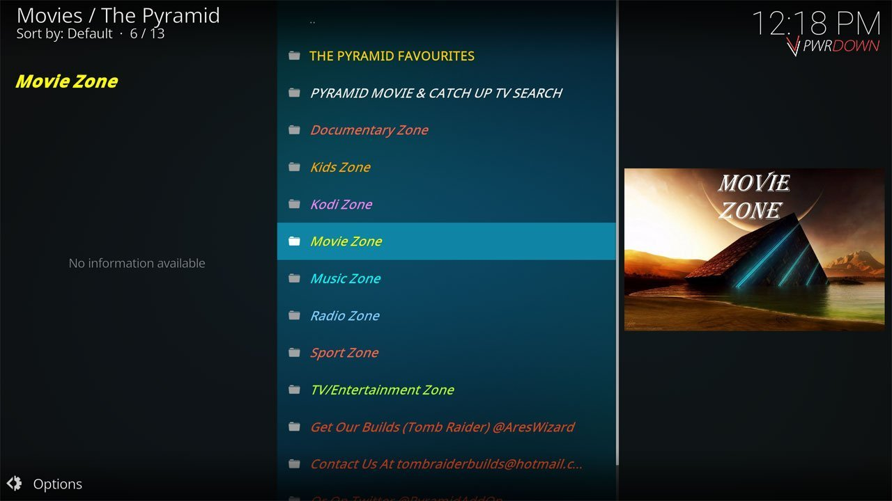 Kodi Ares Repository The Pyramid