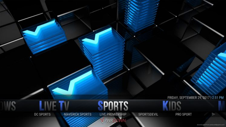 Kodi Hexane Build Sports