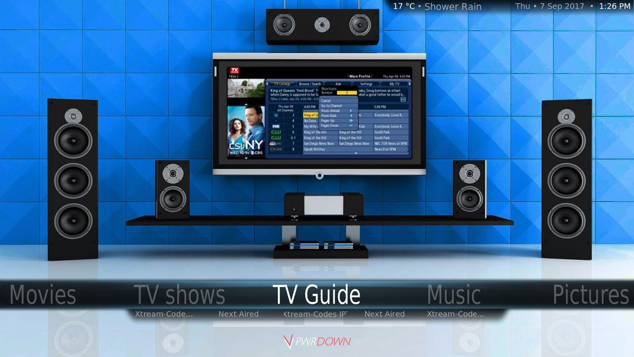 Kodi iKandy Build TV Guide