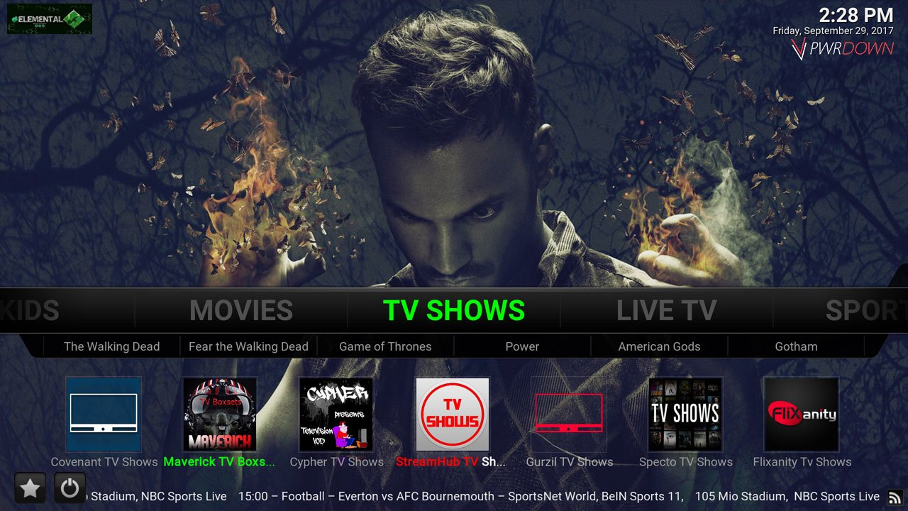 how to add backgrounds to your kodi build