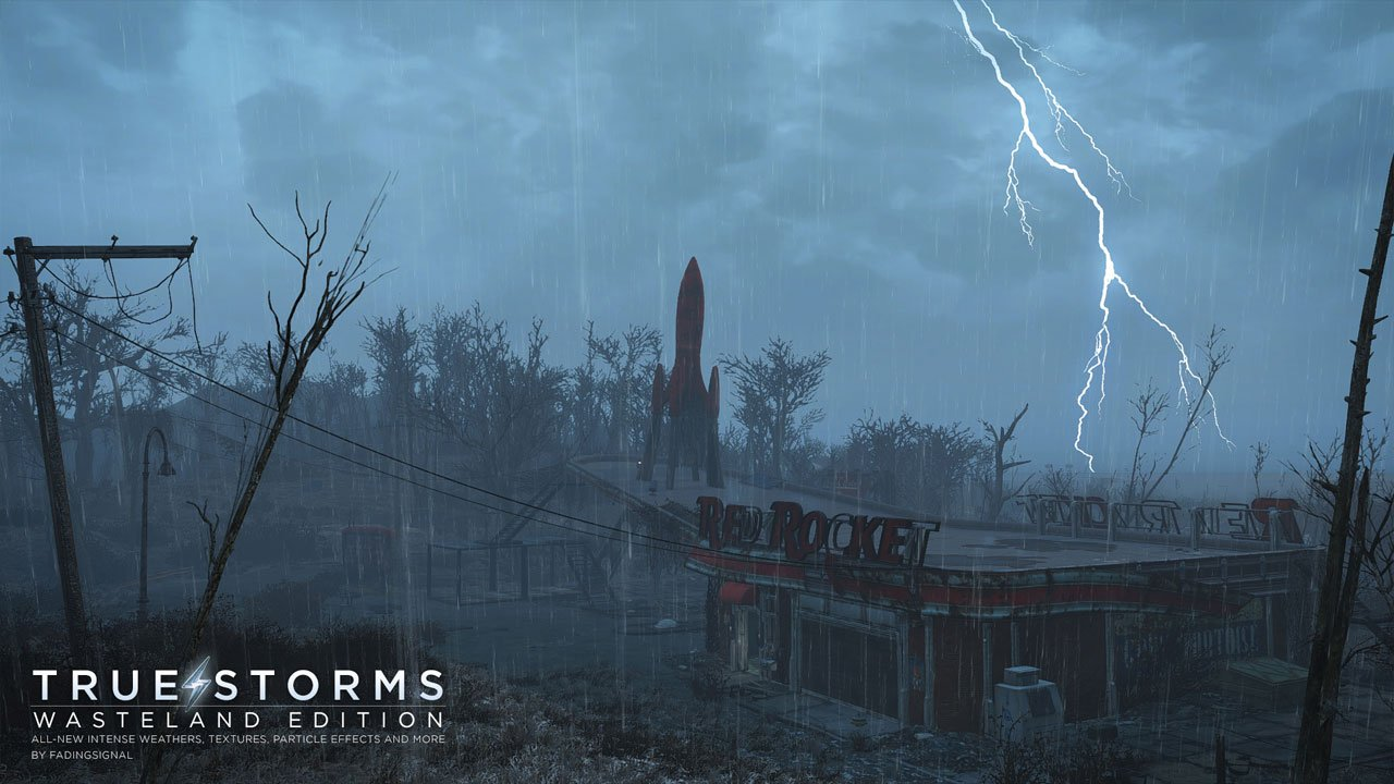 Best Fallout 4 Mods for Graphics true storms