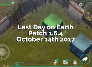 Last Day on Earth: Survival Patch 1.6.4