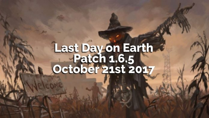 Last Day on Earth: Survival Patch 1.6.5