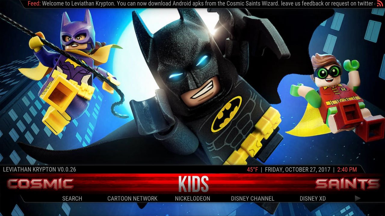 Best Kodi Builds November 2017 Leviathan Kodi Build