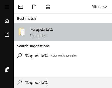 Reset Kodi to factory settings on Windows