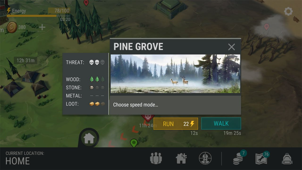 Last Day on Earth Survival Yellow Zones Pine Grove