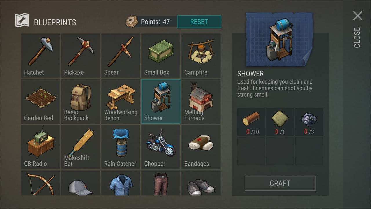 Last Day on Earth Survival how to shower