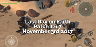 Last Day on Earth: Survival Patch 1.6.7