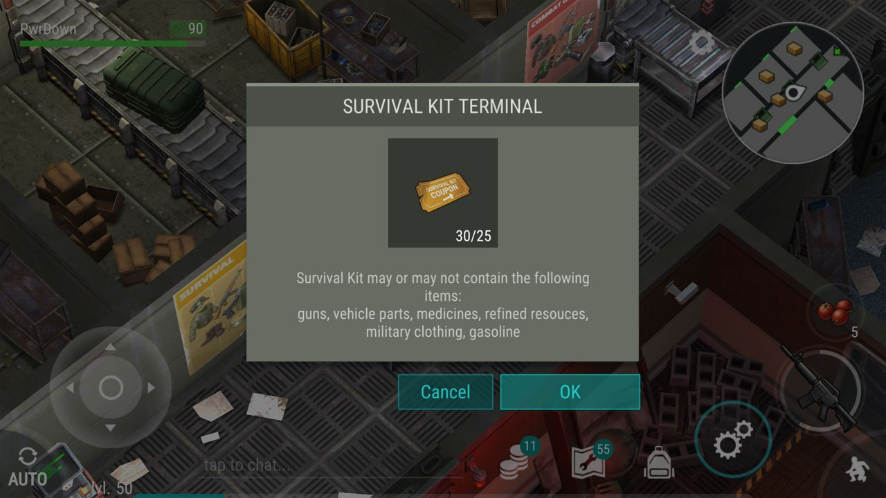 last day on earth survival kit coupons rewards available