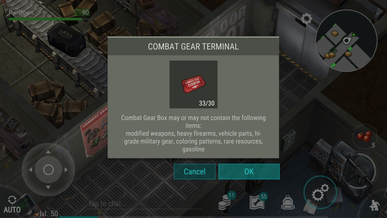 last day on earth survival combat gear loot exchange and potential loot and rewards