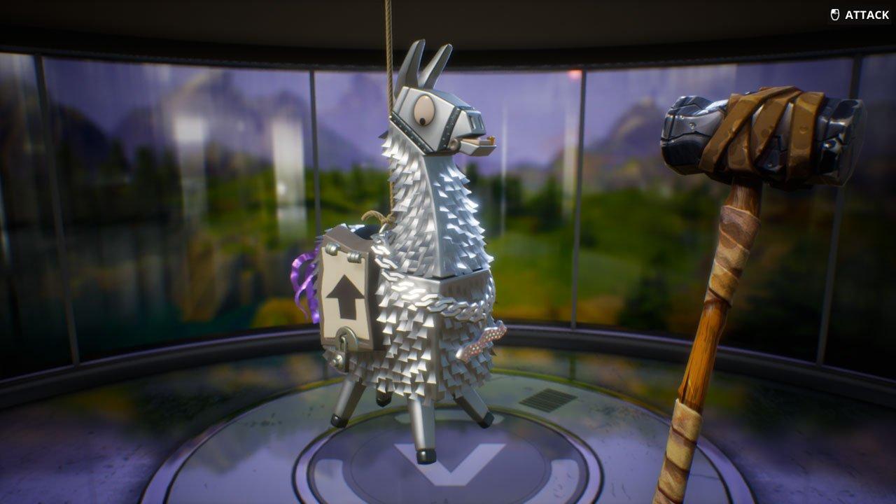 Fortnite Silver Llama