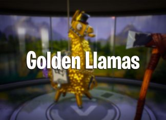 Fortnite Golden Llamas