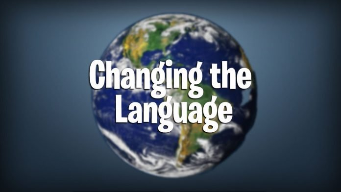 Changing the language in Fortnite battle royale