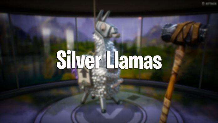How to get Silver Llamas in Fortnite