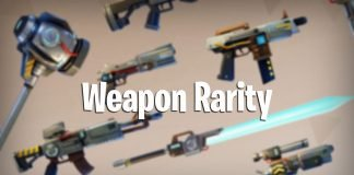 weapon rarity in fortnite battle royale