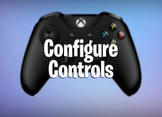 configure controls in fortnite battle royale