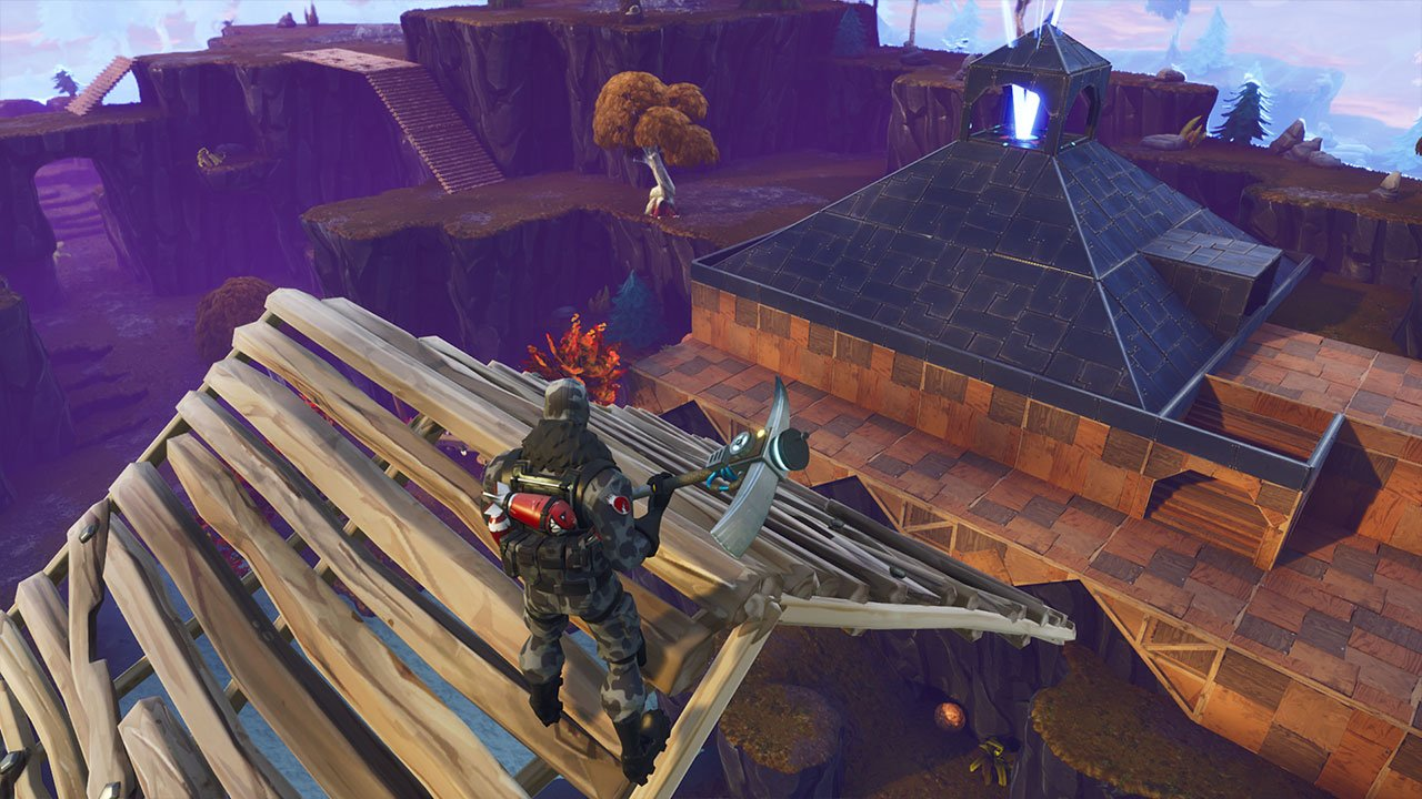 save the world allows complex building and practice - edit controls fortnite xbox
