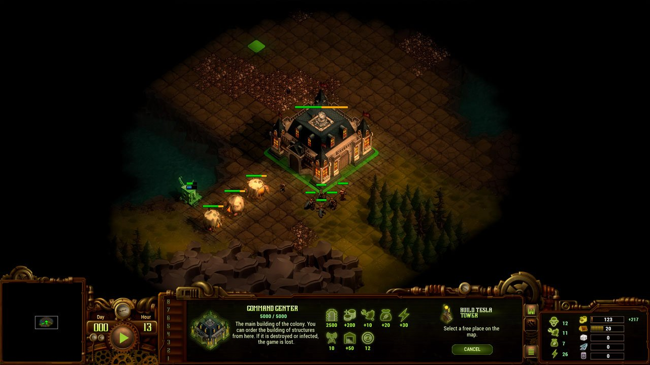 They Are Billions how to expand land place the tesla tower near the edge of your world