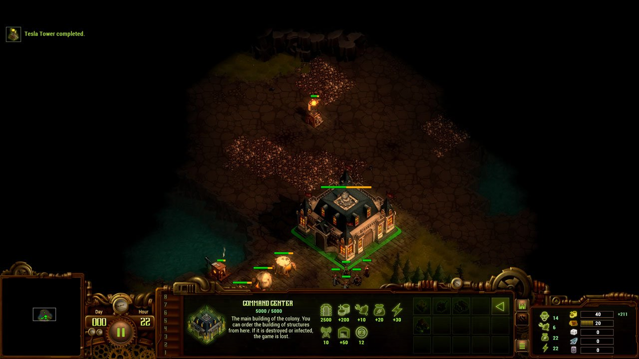 They Are Billions how to expand land expand your land