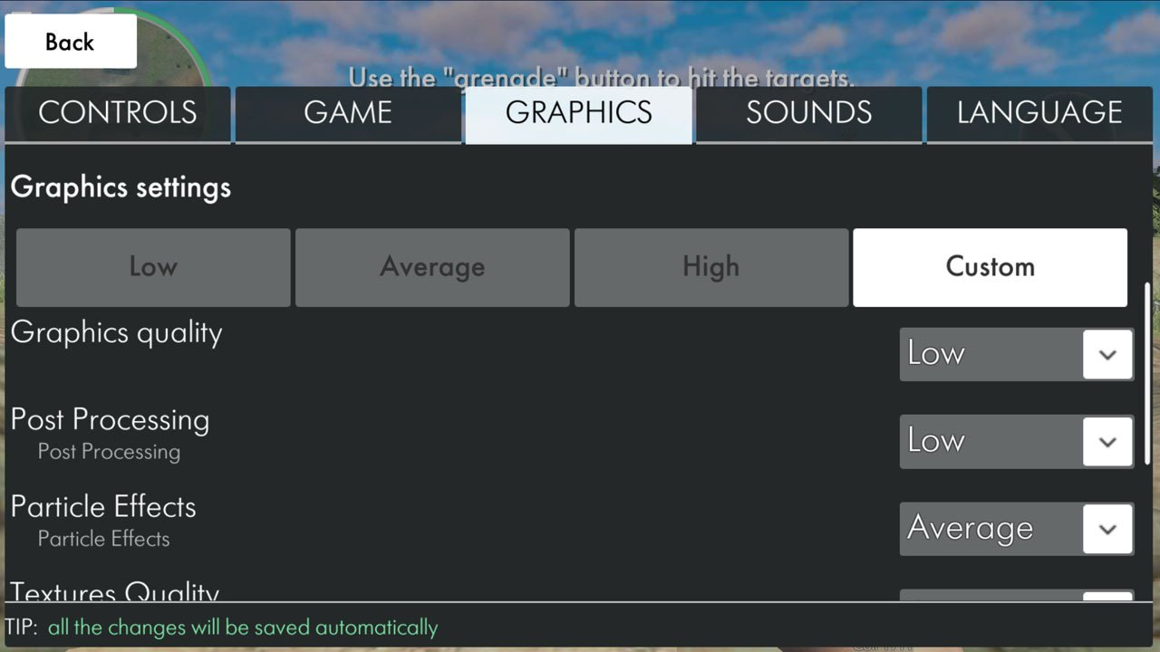 World War Heroes how to change graphics settings choose the graphics tab and change the options