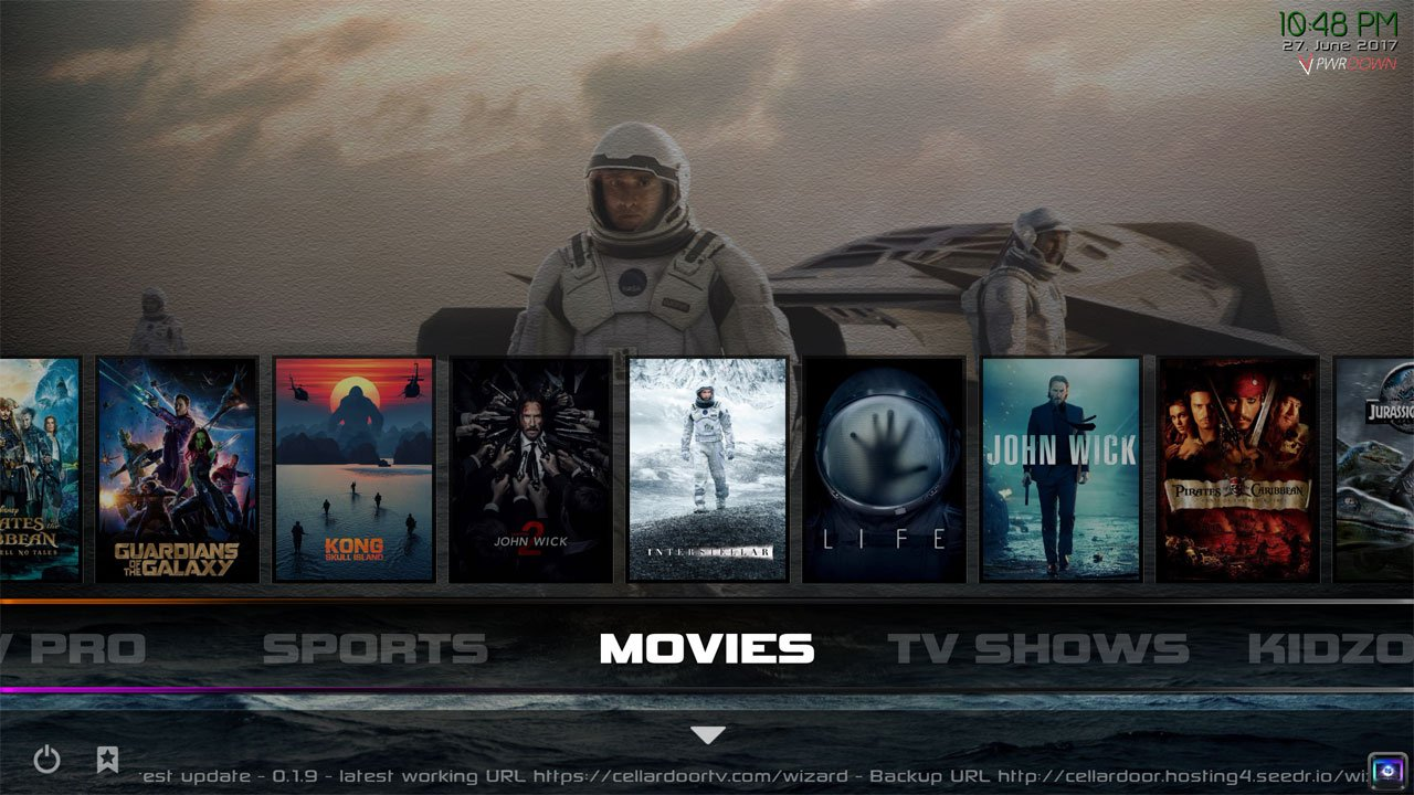 best kodi builds january 2018 cellardoor tv build