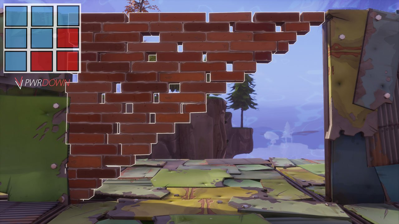 below are all the current wall designs available in fortnite these walls work in both pve pvp in the top left corner of each image is the grid that you - how to edit walls in fortnite
