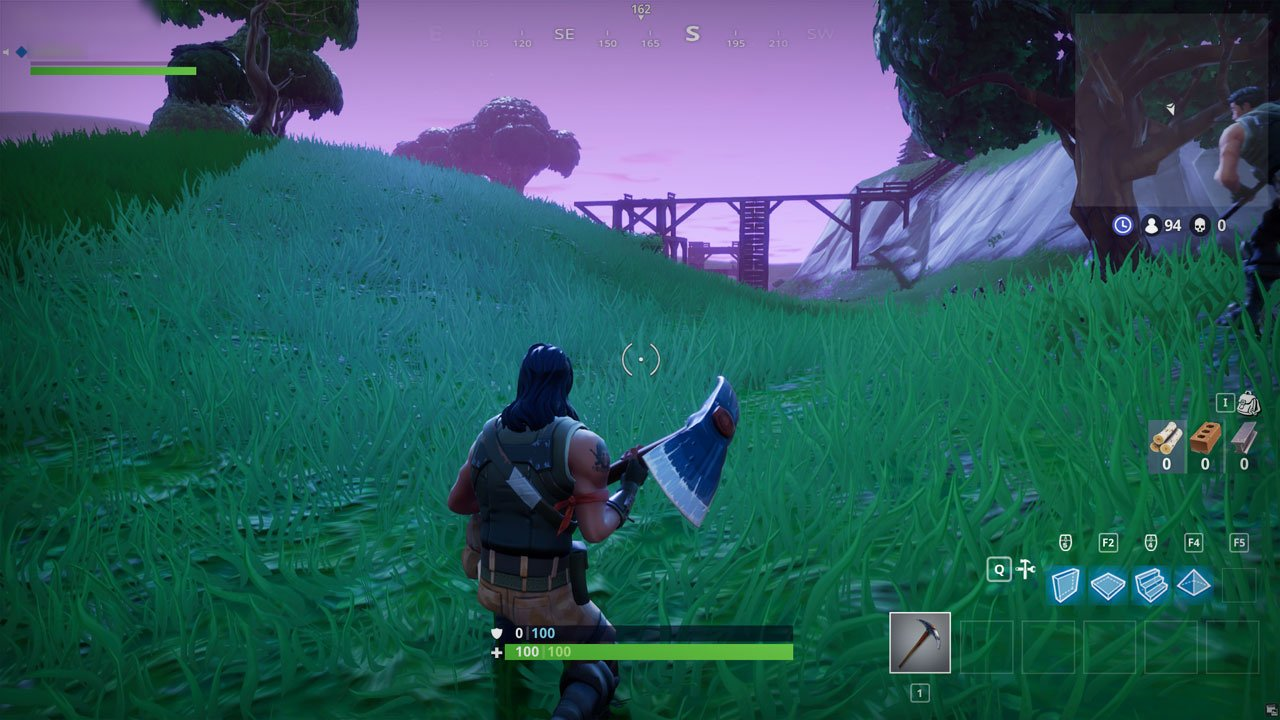 How to crouch in Fortnite Battle Royale