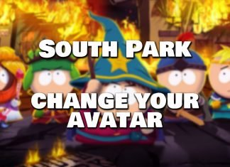 south park phone destroyer how to change your avatar