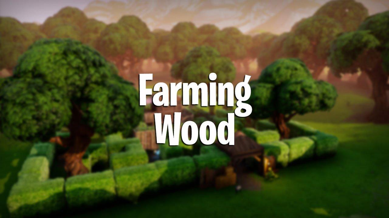 how to farm wood in fortnite pve and fortnite battle royale - farm fortnite