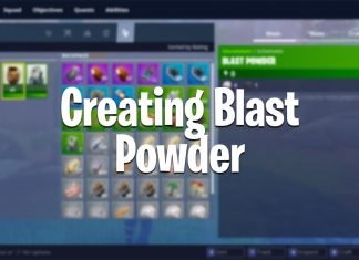 fortnite how to get blast powder