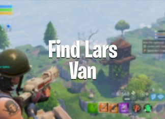 How to find Lars Van ride the lightning fortnite