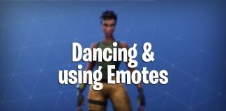 How to Dance and use emotes in fortnite battle royale