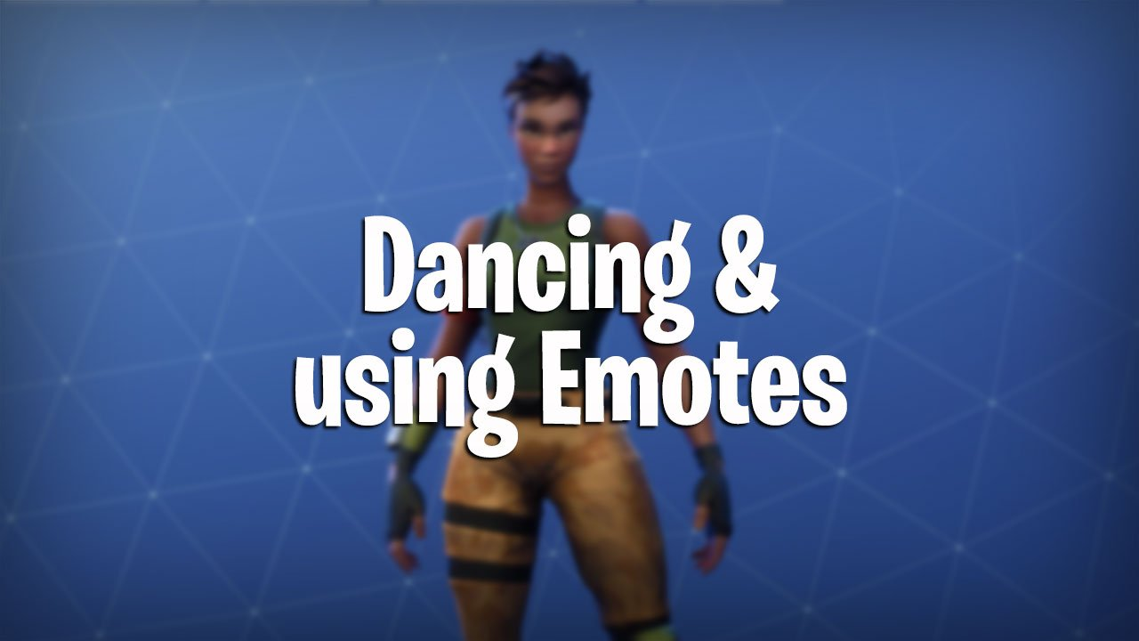 Fortnite Battle Royale How To Dance Use Emotes Pwrdown
